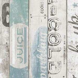 Surf-Bois-Panneau-Papier-Peint-Rouleaux-Bleu-As-Creation-959503-Neuf