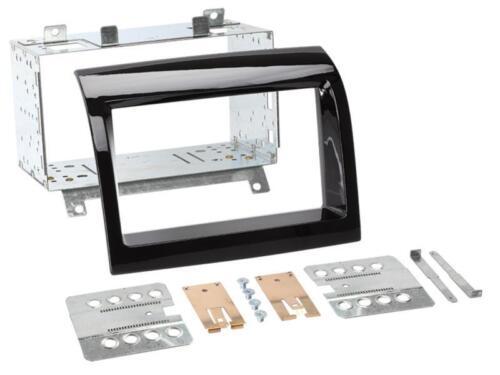 Radio Einbau Set 2 DIN Blende Adapter für Citroen Jumper 250 Facelift Canbus