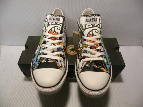 Schuhe Weiß Star All Converse Größe Herren A00144f Ox Neu Lila 13 Ct Low Aufkleber ap48Wq4