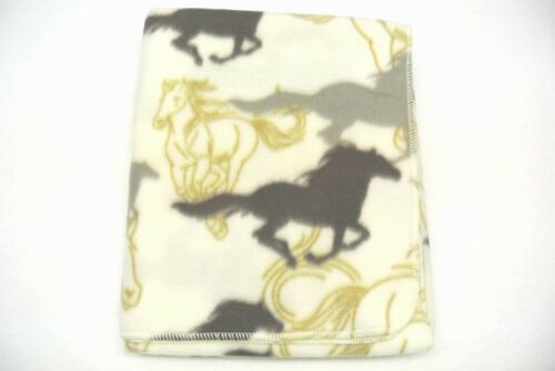 Horses Baby Toddler Blanket Can Be Personalized 29x45