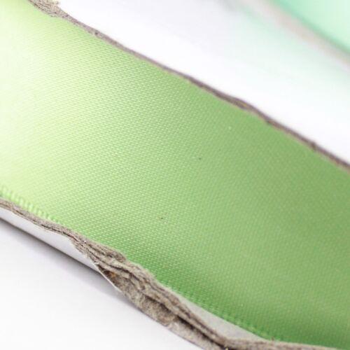 /<Blue Green/> 9-38mm 1mtr Satin Ribbon Scrapbook Craft Gift Wrap Hair Wedding