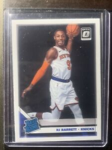 2019-20-Panini-Donruss-Optic-178-RJ-Barrett-Rated-Rookie-Card-RC-NY-Knicks-NBA