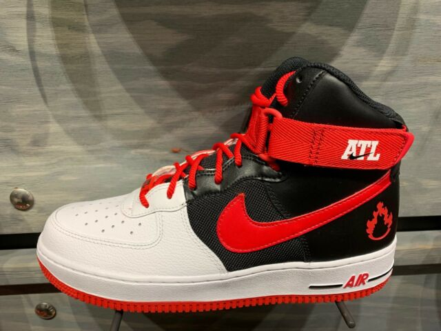 Nike Air Force 1 High LV8 ATL White Black Red GS Men Size 4Y-13 New DS
