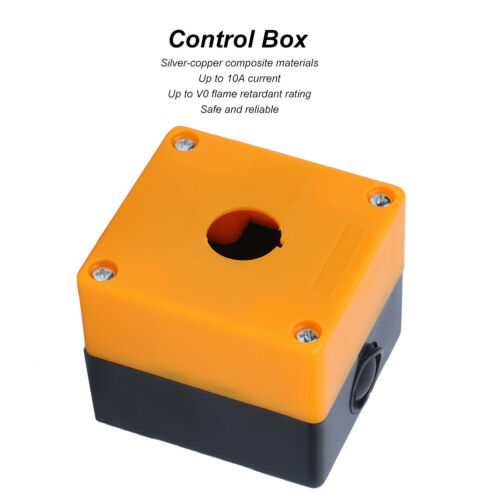 Switch Button Box BX1-22 Emergency Stop Box Projects for Electronic Projects