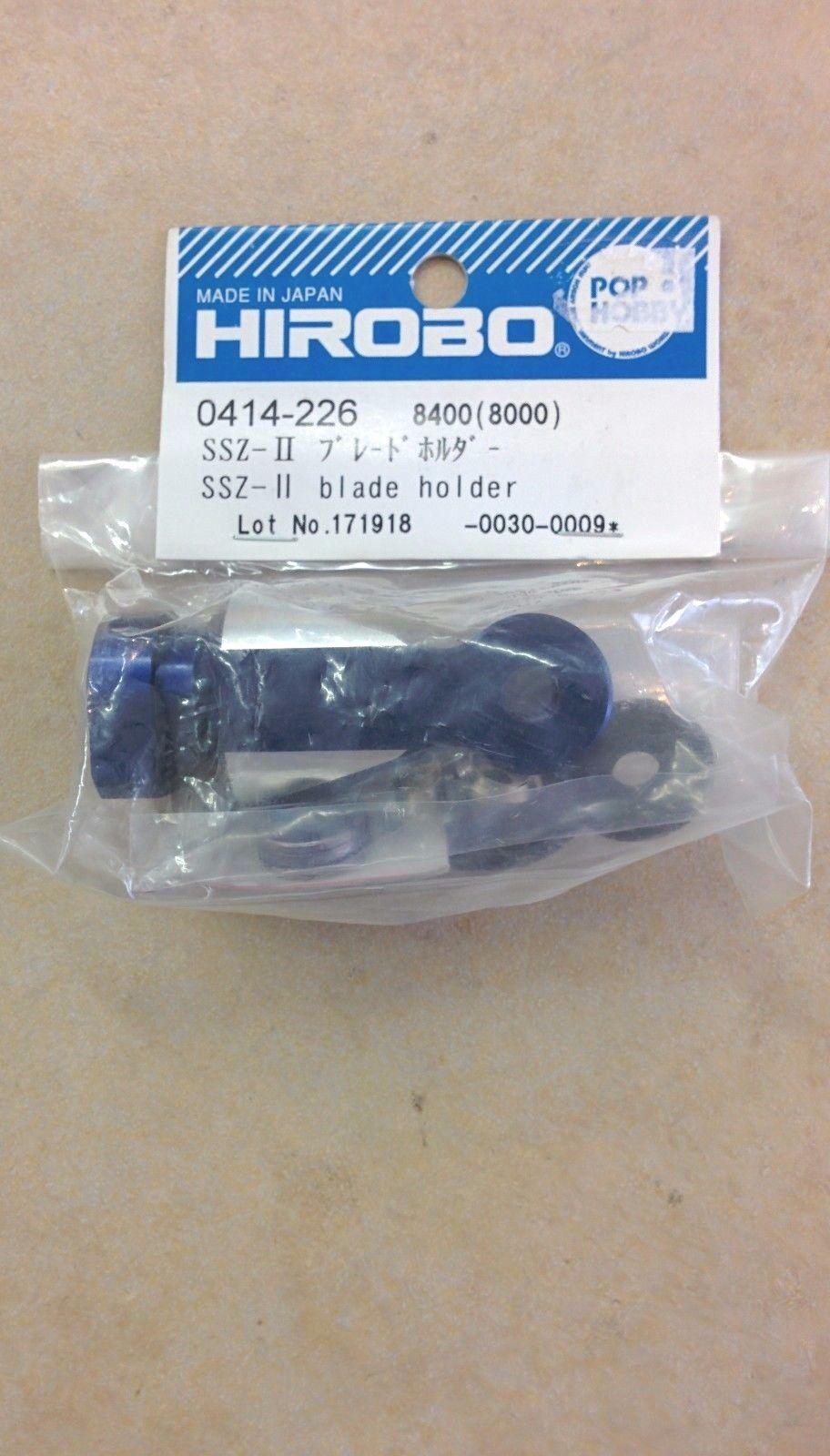 0414-226 Hirobo SSZ-II blade holder helicopters Freya, Eagle