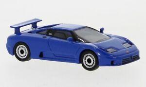 BoS 1:87 87555 Bugatti Eb 110, Bleu - Neuf