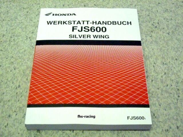 HONDA FJS 600 , ab 2001 , PF 01, PF01 , Werkstatthandbuch Reparaturanleitung !