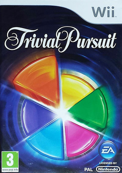 Trivial Pursuit (Nintendo Wii, 2009) Game EA PAL