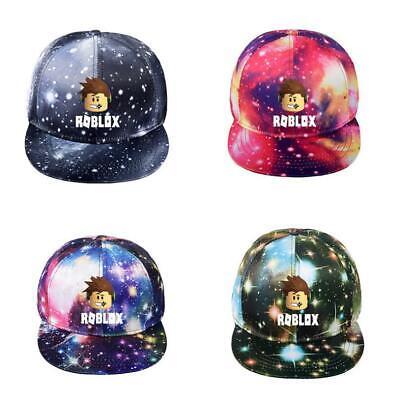 Game Roblox Starry Sky Baseball Hat Hip Hop Fashion Snapback