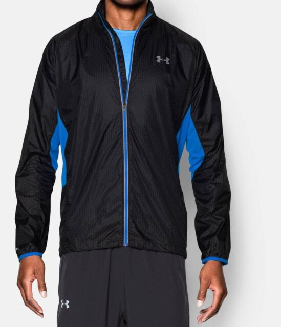 22bb66e47 Under Armour UA Storm Run Packable Men's Jacket Infrared 1267048 Small $110  NWT