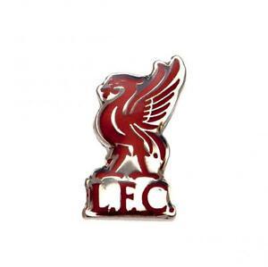 Free P/&P LIVERPOOL Club Crest Logo Pin Badge..