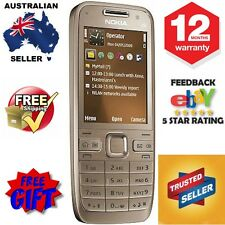 Nokia E52 - Gold Smartphone - 12 Mths AU Warranty - Free Exp Post + 4 Free Gifts