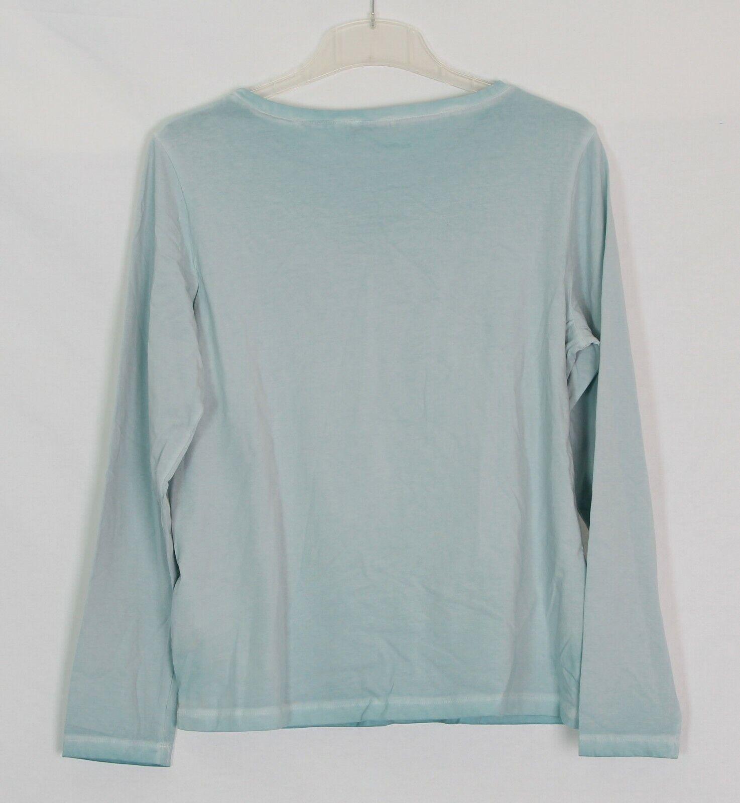 Basler Donna Pullover Shirt DOWNTOWN DOWNTOWN DOWNTOWN Glitter Pietre Blu 7efd90