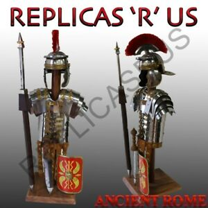 Roman-Centurion-Helmet-Sword-Shield-Spear-And-Amour-Mini-Set-With-Stand