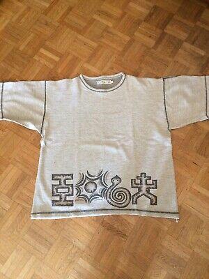 Ambizioso Tee Shirt Scott & Fox Imprimé Ethnique 100% Coton Xl (taille Grand) Gris Chiné