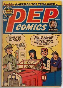 Pep-Comics-90-Archie-1952-FN