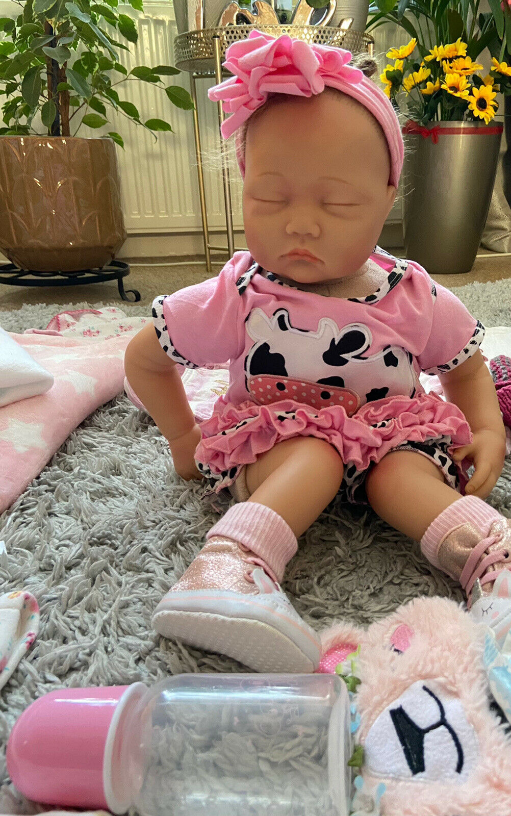 Yesteria 20 Inches Sleeping Realistic Baby Dolls With Accessories