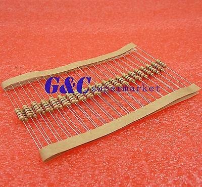 500PCS 390Ω 390 Ohm 1//4W 0.25W 5/% Carbon Film Resistors CF NEW