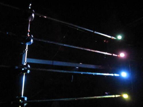 3 x rod pod feu rouge clignotant éclairage Carpe pêche Feeder zander carpes poissons blancs