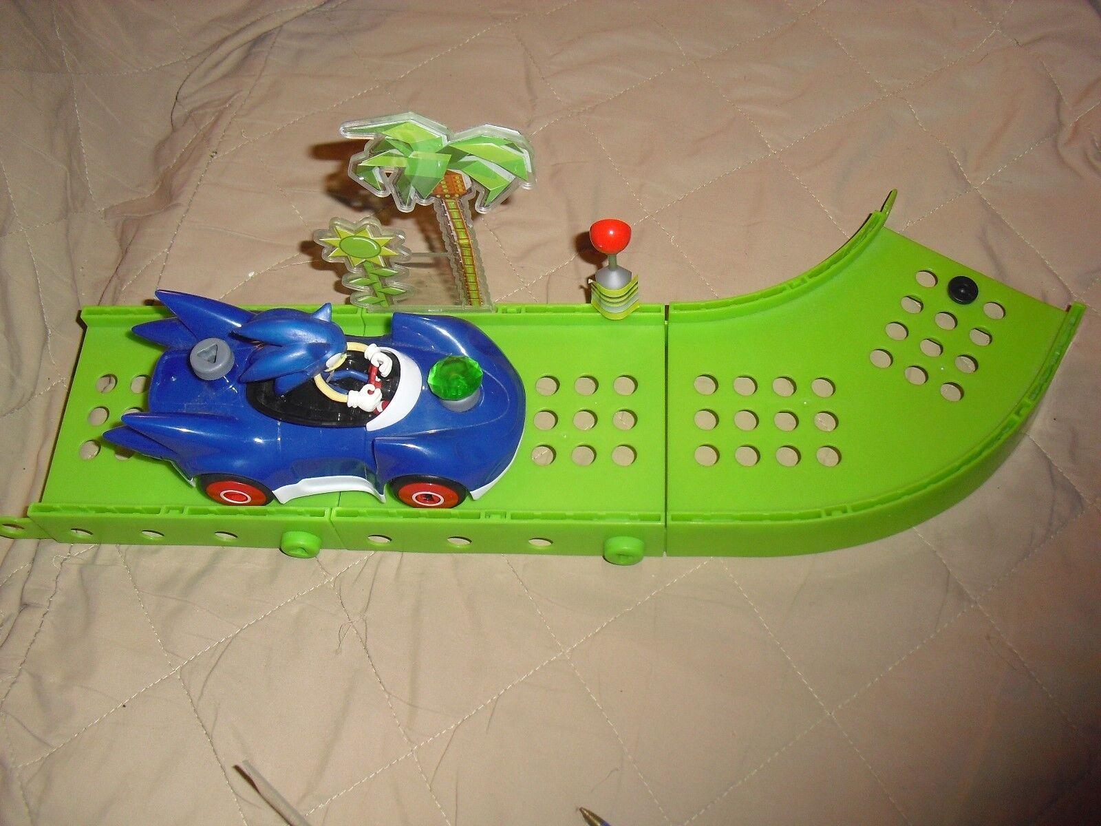 Sonic the hedgehog meccano erector set speed star toy car figure set