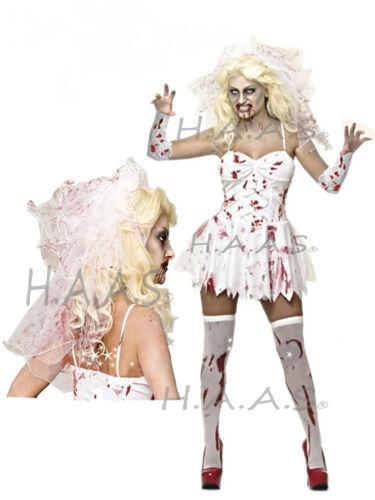 Bloody Zombie Bride Nurse Ghoul Student Stockings Socks Halloween Costume lot