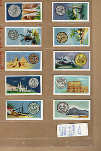 C-E-D-E-limited-Coins-of-the-world-1956-complete-set-of-25-in-plastic-sleeves