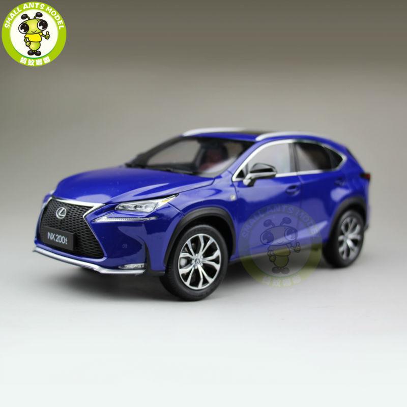 1 18 Toyota Lexus NX 200T NX200T Diecast Model Car Suv Toys kids boy Gifts bluee