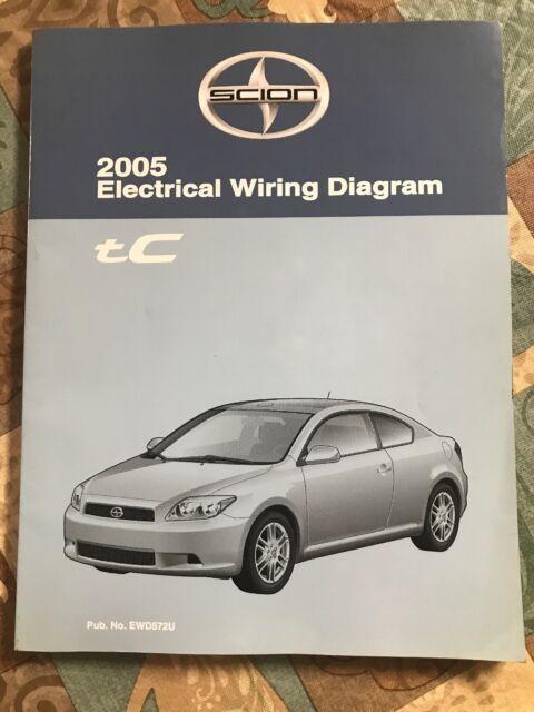 Toyota Scion Tc Electrical Wiring Diagram 2005 Dealer Oem