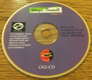 LibéRal Magic Installer Version 1.1 Cd-afficher Le Titre D'origine