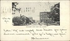 Leominster? Wachusett Shirt Shop & Laundry c1903 Postcard