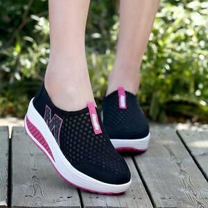 Fashion-Women-Mesh-Platform-Sneakers-Trainers-Sports-Fitness-Breathable-Shoes-B