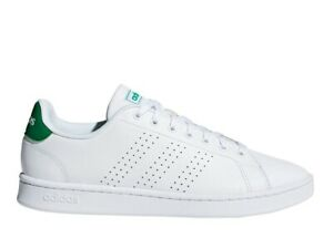Chaussures Hommes adidas 36424 Basket Sportif Basses École Baskets Cuir Blanc