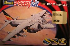 REVELL EASYKIT RV06645 BAe HARRIER GR.9 1:100 EASY SNAP-TOGETHER NEW AIRCRAFT