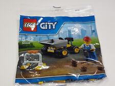 LEGO Nuovo di zecca-Mini camion con cassone ribaltabile (2016) - City - 30348 sacchetto di plastica/Set PROMO