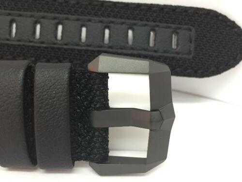 Luminox Watchband F-117 23mm Blk Weave w//Black Buckle.Would fit 22mm//24mm