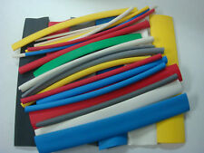 21 Flexible Polyolefin Heat Shrink Tubing Assortment 8 Colors Amp Sizes Usa Made