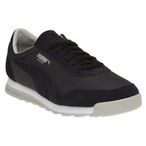 d340889f9f8 Image is loading New-Mens-Puma-Black-Jogger-Suede-Trainers-Retro-