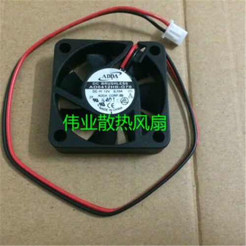 1pcs ADDA AD0412HB-G70 fan 12V 0.10A 40*40*10mm 2pin #M2369 QL