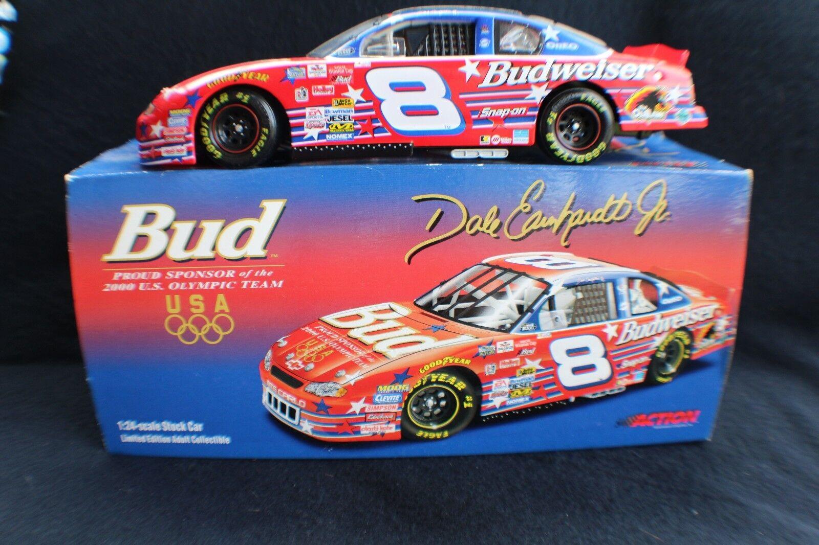 Dale Earnhardt Jr Budweiser US Olympic Team 1 24car,  of 7500 made