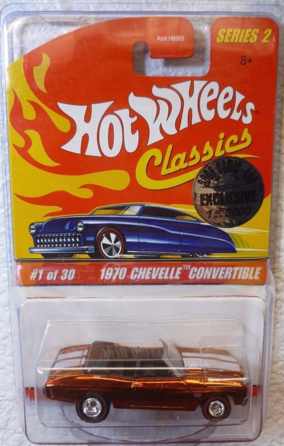 2006 Comic Con Hot Wheels Classics Series 2 1970 Chevelle Chevelle Chevelle Converdeible 5204d3