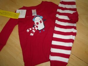 ef336af02 NWT GYMBOREE GYMMIES HOLIDAY CHRISTMAS PAJAMAS SLEEPWEAR 6 12 MONTHS ...