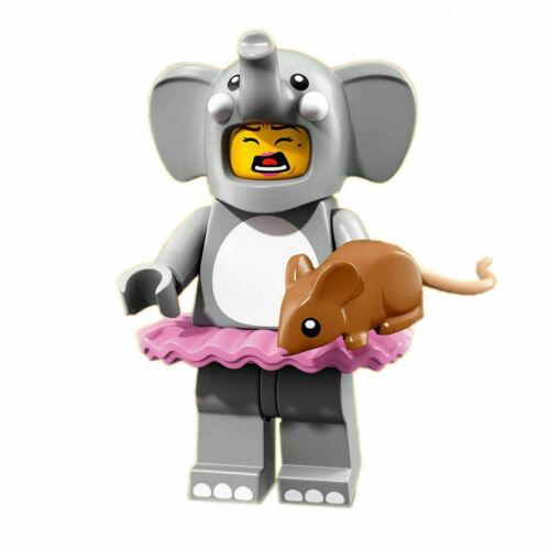 100/% Lego Series 18 Collectible Minifigures 71021 Dragon Elephant Clown Cactus