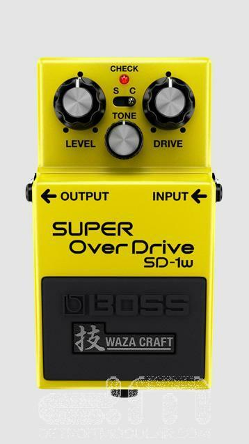 Boss SD-1W Super Overdrive Waza Craft   NEW