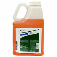 Remedy Ultra Herbicide 1 Gal Triclopyr 60.45% Woody Plants Brush Control Stumps