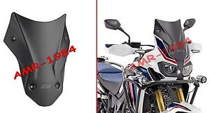 spoiler windshield honda crf1000l africa twin from 2016. Black Bedroom Furniture Sets. Home Design Ideas