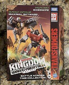Transformers War For Cybertron: Kingdom Maximal Skywarp & Sideswipe