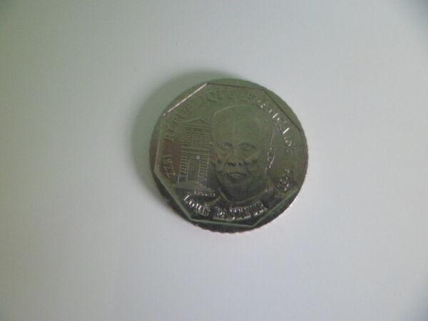 2 Francs 1995 Louis Pasteur Nickel 7,5 Gr Tres Belle Piece Par Processus Scientifique
