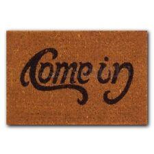Welcome-Go Away Come In Doormat ndoor Outdoor Rubber Floor Mat Non Slip Cushion