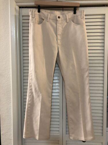Vintage 60s Levi's Sta Prest Flared Pants Sz 36 x