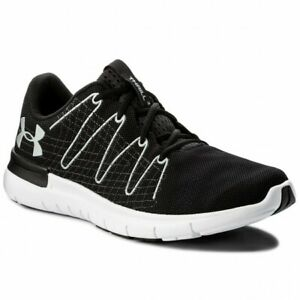 new product 7c627 8b07e Details about Under Armour UA Men's Thrill 3 Running Shoes - Black - UK 11  - New